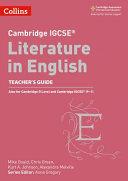 Cambridge Igcse(r) Literature in English Teacher Guide