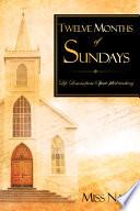 Twelve Months of Sundays Book