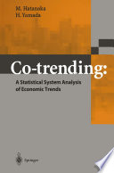 Co trending  A Statistical System Analysis of Economic Trends