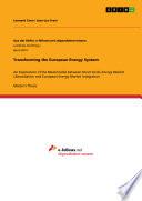 Transforming the European Energy System