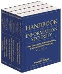 Handbook of Information Security  3 Volume Set