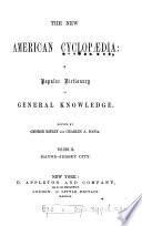 The new American cyclopædia, ed. by G. Ripley and C.A. Dana