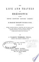 The Life and Travels of Herodotus in the Fifth Century