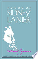 Sidney Lanier Books, Sidney Lanier poetry book