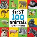 Books - First 100 Animals | ISBN 9781843323440
