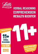 11+ Comprehension Results Booster for the CEM Tests