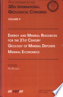 Energy And Mineral Resources For The 21st Century Book PDF