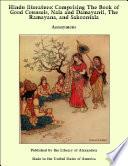 Hindu Literature  Comprising The Book of Good Counsels  Nala and Damayanti  The Ramayana and Sakoontala