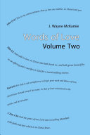 Words of Love Volume 2 PB