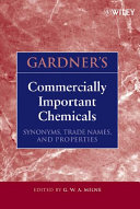 Gardner's Commercially Important Chemicals Pdf/ePub eBook