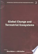 Global Change And Terrestrial Ecosystems Book PDF