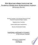 New Research Directions For The National Geospatial Intelligence Agency Book PDF
