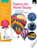Poems for Word Study Book PDF