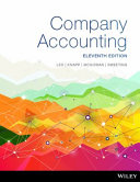 Cover of Company Accounting 11E Print on Demand (Black and White)