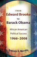 From Edward Brooke to Barack Obama