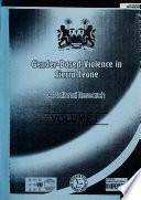 Gender-based Violence in Sierra Leone