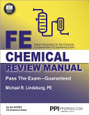 FE Chemical Review Manual Book