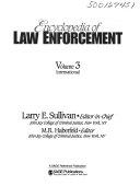 Encyclopedia Of Law Enforcement International