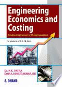 Engineering Economics and Costing