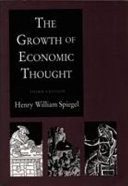 The Growth of Economic Thought