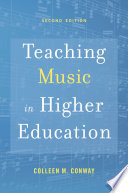 Teaching Music in Higher Education