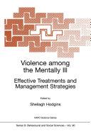 Violence among the Mentally III [Pdf/ePub] eBook