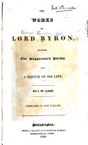 Pdf The Works of Lord Byron
