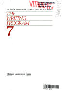 The Writing Program  Level 7 Book PDF