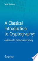 A Classical Introduction to Cryptography