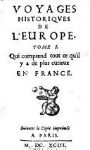 Voyages Historiques De L'Europe