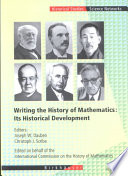 Writing the History of Mathematics: Its Historical Development