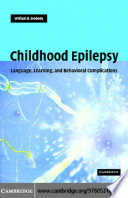 Childhood Epilepsy Book