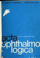Acta Ophthalmologica