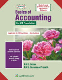 Padhukas Basics Of Accounting For Ca Cpt  New Sly   3E