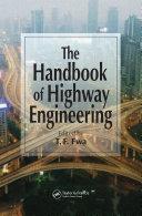 The Handbook of Highway Engineering [Pdf/ePub] eBook