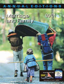 Marriage and Family 2000 2001