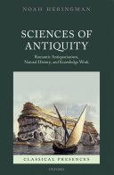 Sciences of Antiquity