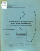 Sedimentation and Hydrologic Processes in Lake Decatur and Its Watershed