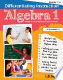 Differentiating Instruction in Algebra 1