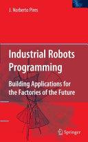 Industrial Robots Programming [Pdf/ePub] eBook