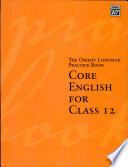 Orient Blackswan Practice Bk Core Eng.Cl-12