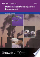 Mathematical Modeling in the Environment Book