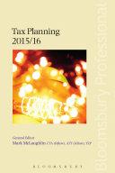 Tax Planning 2015 16