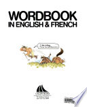 Word Book in English and French