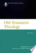 Old Testament Theology: The theology of Israel's historical traditions