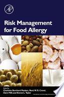 Risk Management for Food Allergy Book