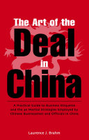 Art of the Deal in China Pdf/ePub eBook