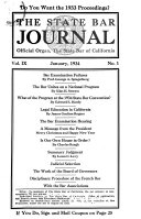The State Bar Journal