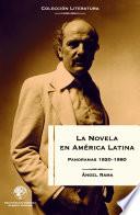 La novela en América Latina: Panoramas 1920-1980  : Panoramas 1920 - 1980