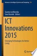ICT Innovations 2015